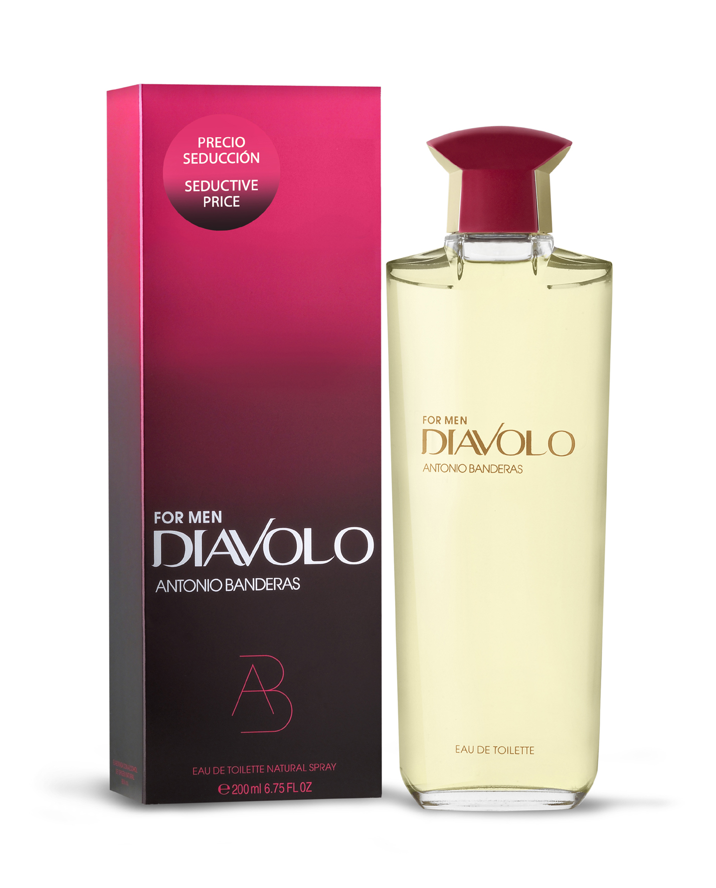 ANTONIO BANDERAS DIAVOLO EDT 200 ML