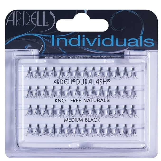 ARDELL PESTAÑAS POSTIZAS INDIVIDUALS MEDIUM BLACK