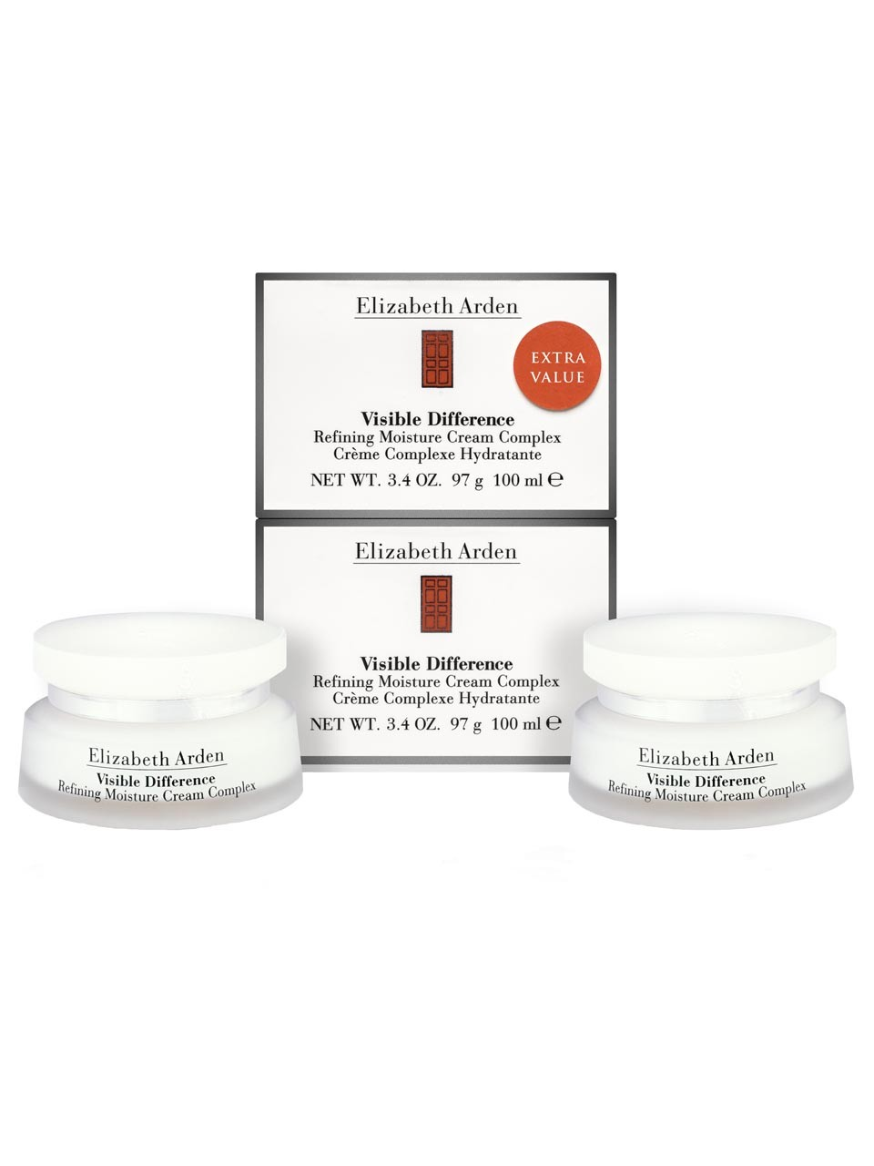 ARDEN VISIBLE DIFFERENCE MOISTURE CREAM 100 ML X 2
