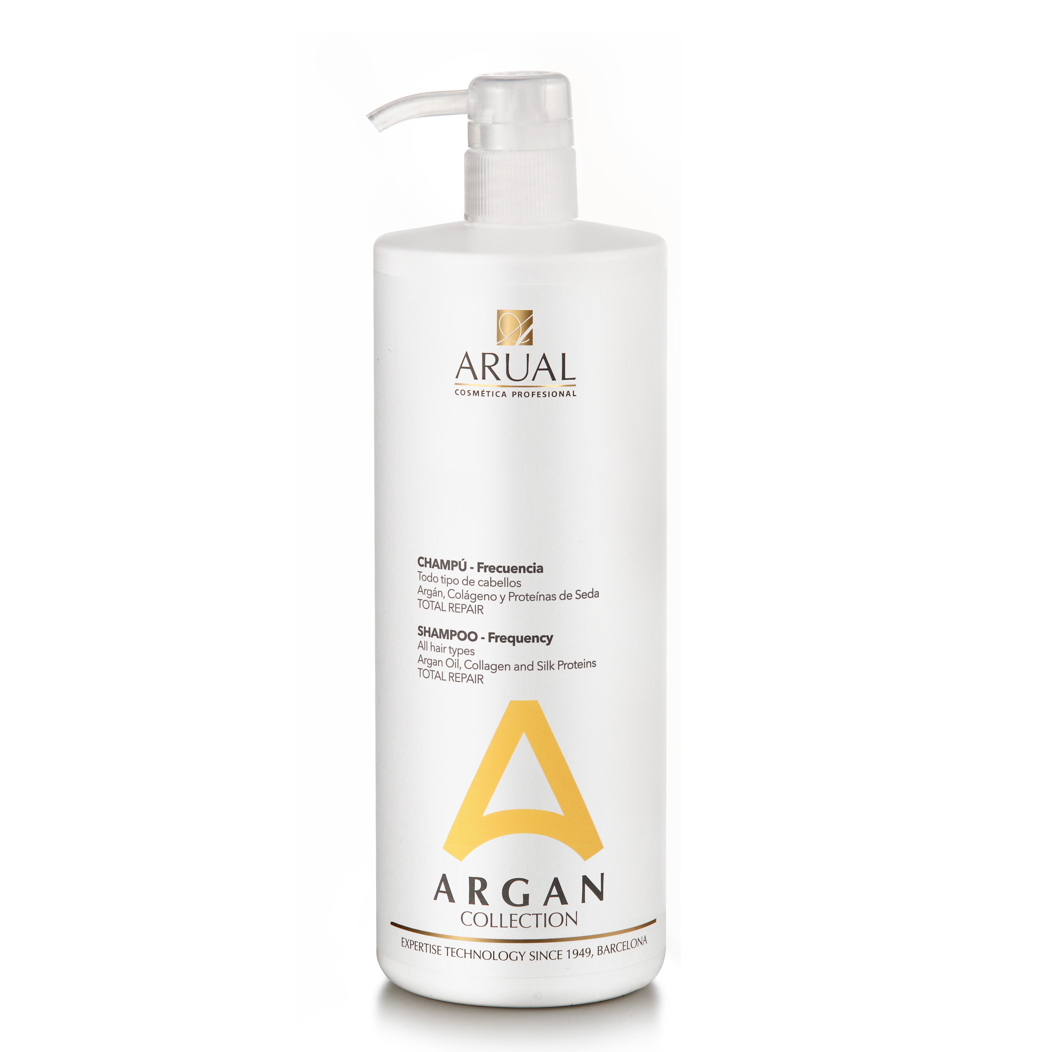 ARUAL FRECUENCIA ARGAN COLLECTION  CHAMPU  1 LITRO