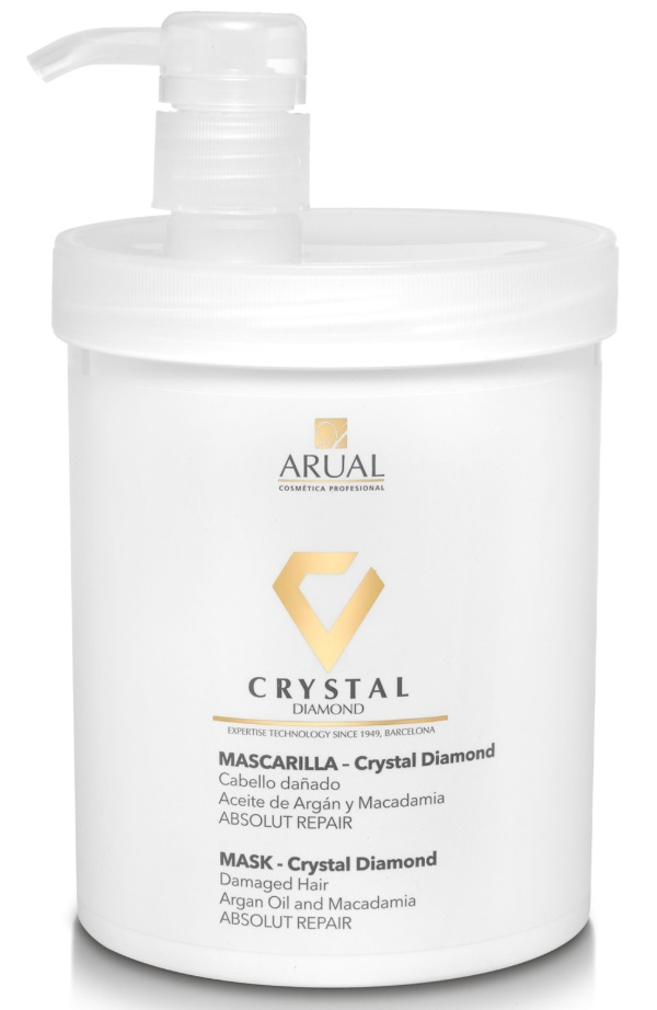 ARUAL MASCARILLA CRYSTAL DIAMOND ELIXIR DE ARGAN 1000 ML