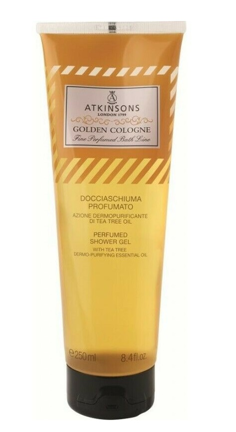 ATKINSONS GEL DE DUCHA GOLDEN COLOGNE  250 ML
