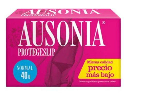 AUSONIA SALVA SLIP NORMAL 40 UNIDADES