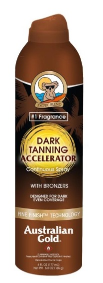 AUSTRALIAN GOLD SPRAY ACELERADOR BRONCEADO 177 ML