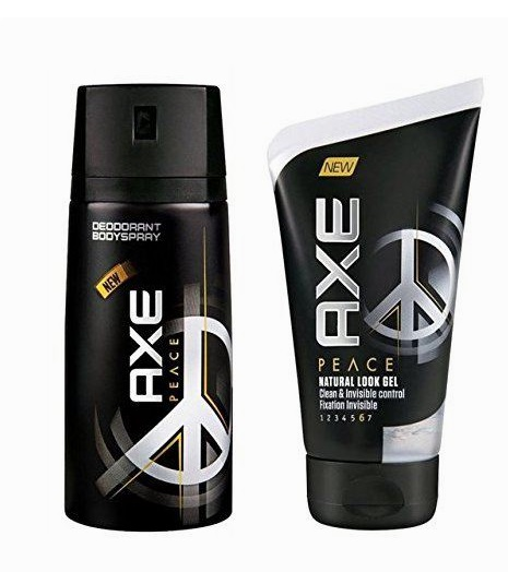 AXE PEACE DESODORANTE SPRAY 150 ML + GEL FIJADOR 125ML