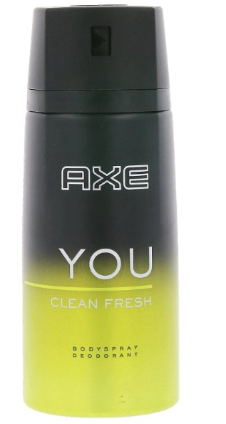 AXE YOU CLEAN FRESH DESODORANTE SPRAY 150ML