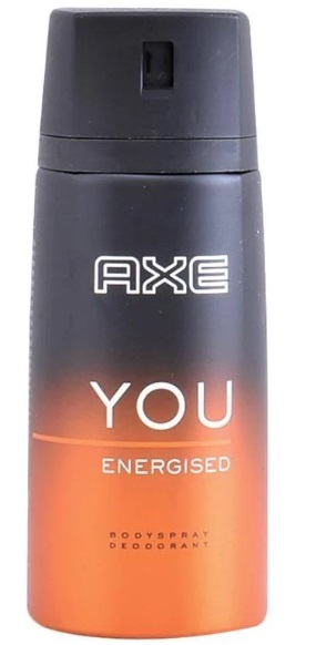 AXE YOU ENERGISED DESODORANTE SPRAY 150ML
