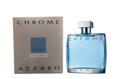AZZARO CHROME LOCION AFTERSHAVE BALM 100 ML