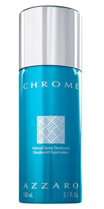 AZZARO CHROME DEODORANT SPRAY 150 ML