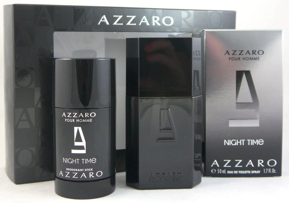 AZZARO POUR HOMME NIGHT TIME EDT 50 ML + DEO STICK 75 ML SET