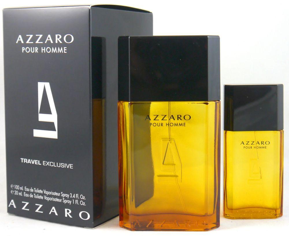 46e2c320f AZZARO POUR HOMME EDT 100 ML + EDT 30 ML SET REGALO. Sello de Garantía