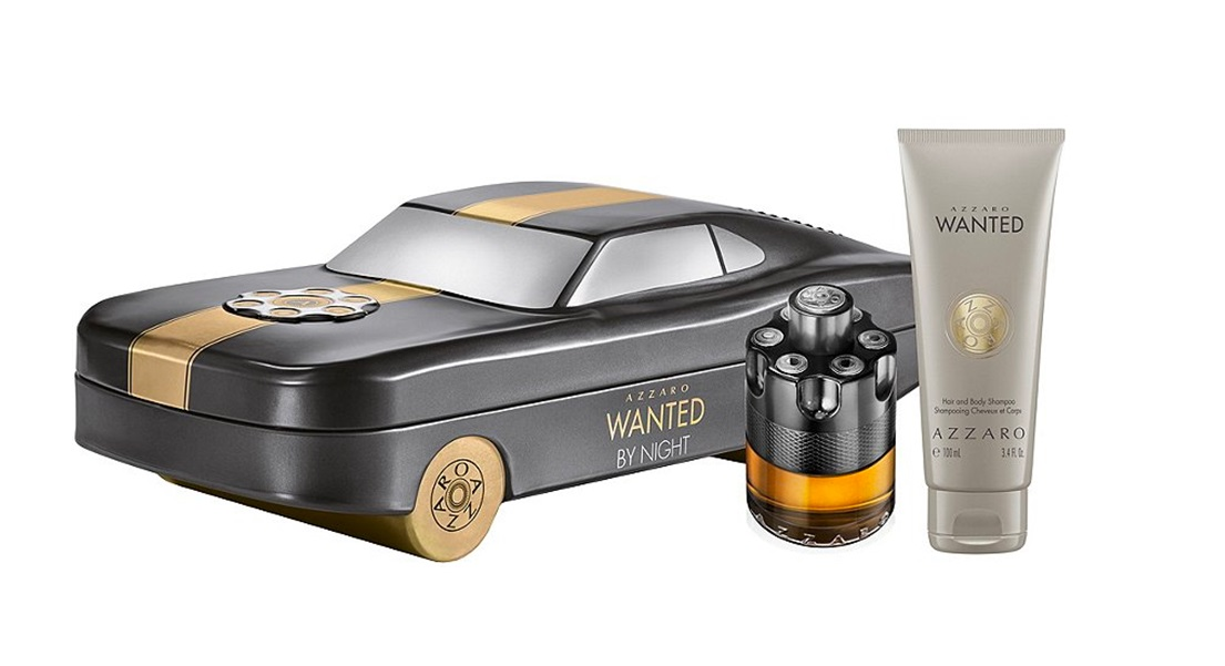 AZZARO WANTED BY NIGHT EDP 50 ML + SHOWER GEL 100 ML SET REGALO