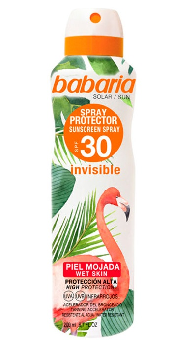 BABARIA BRUMA PROTECTORA INVISIBLE SPF30 TROPICAL 200ML