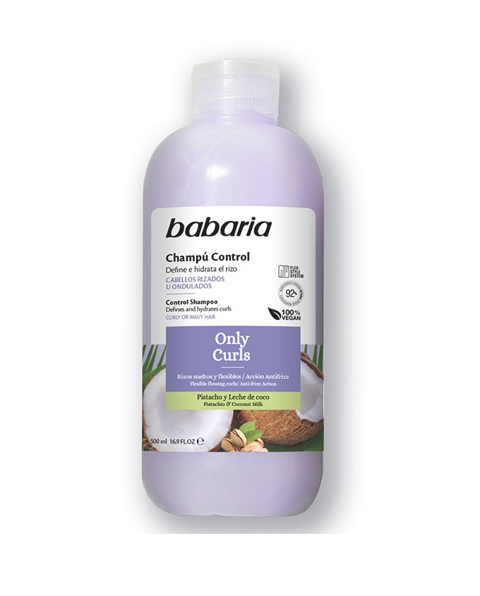BABARIA CHAMPÚ CONTROL ONLY CURLS 500 ML