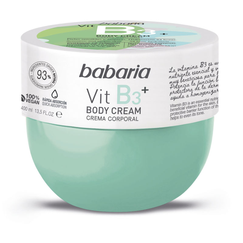 BABARIA BODY CREAM VITAMINA B3 400 ML