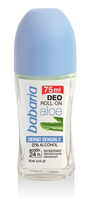 BABARIA ROLL-ON DESODORANTE DERMO SENSIBLE 75ML