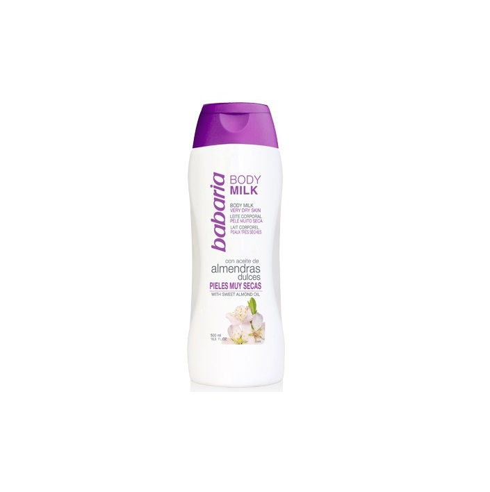 BABARIA BODY MILK ALMENDRAS DULCES 500ML