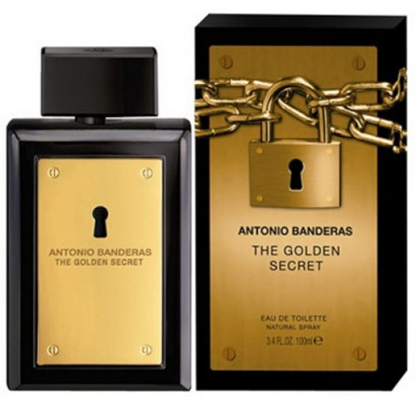 ANTONIO BANDERAS GOLDEN SECRET EDT 100 ML VP.