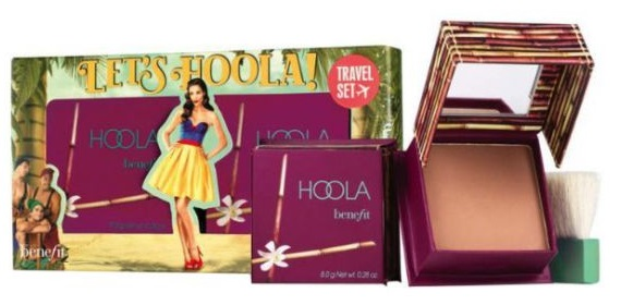 BENEFIT LET\'S HOOLA! TRAVEL SET