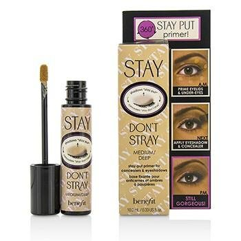 BENEFIT STAY DON\'T STRAY PREBASE SOBRA DE OJOS 10 ML MEDIUM / DEEP