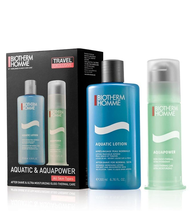 BIOTHERM HOMME AQUAPOWER 75 ML + AQUAPOWER LOCION 200 ML SET REGALO
