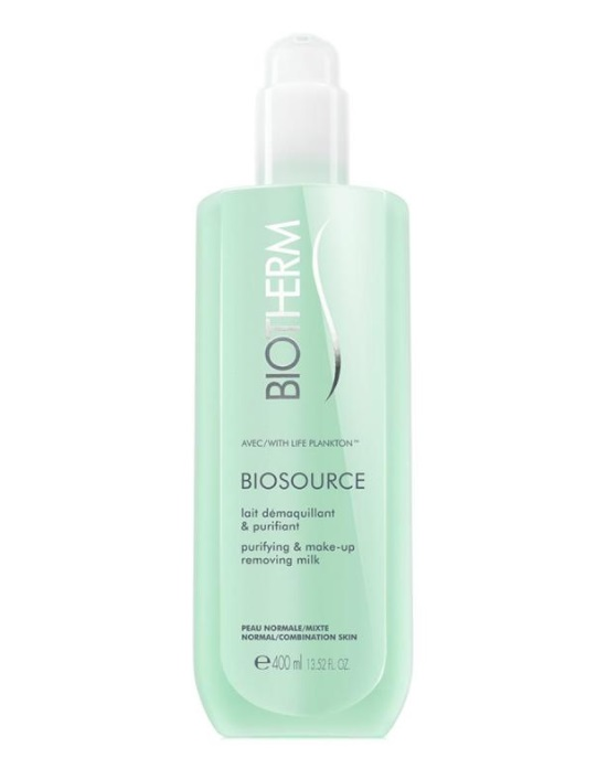 BIOTHERM BIOSOURCE LECHE DESMAQUILLANTE P/NORMAL- MIXTA 400 ML
