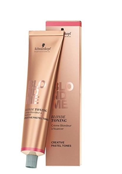 SCHWARZKOPF BLONDE ME TONING CREMA CON COLOR PARA CABELLOS RUBIOS ICE 60ML