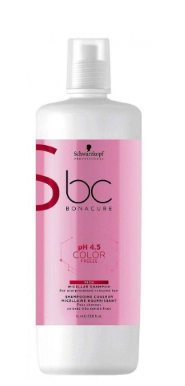 BONACURE COLOR FREEZE PH4.5 CHAMPU MICELAR ENRIQUECIDO 1000ML