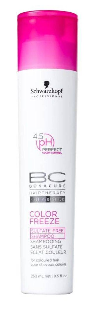 BONACURE COLOR FREEZE SULFATE FREE SHAMPOO 250 ML