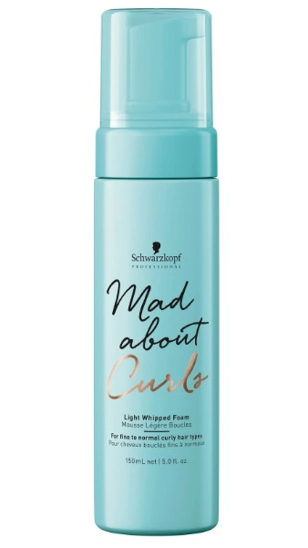 SCHWARZKOPF MAD ABOUT CURLS LIGHT WHIPPED FOAM ESPUMA LIGHT 150ML