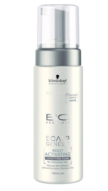 BONACURE SCALP GENESIS ROOT ACTIVATING DENSIFYING ESPUMA DESIFICADORA ACTIVADOR RAICES 150ML