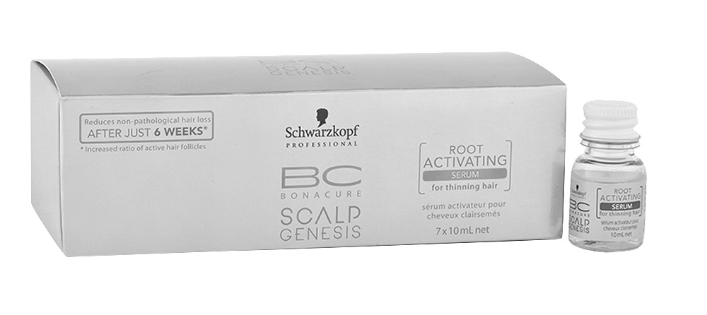 BONACURE SCALP GENESIS ROOT ACTIVATING SERUM ANTICAIDA 7 X 10 ML