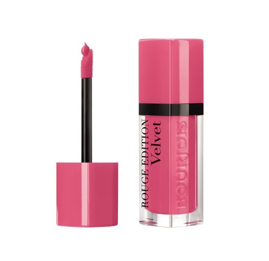 BOURJOIS ROUGE EDITION  VELVET BARRA DE LABIOS  011 SO HAP PINK 7.7ML