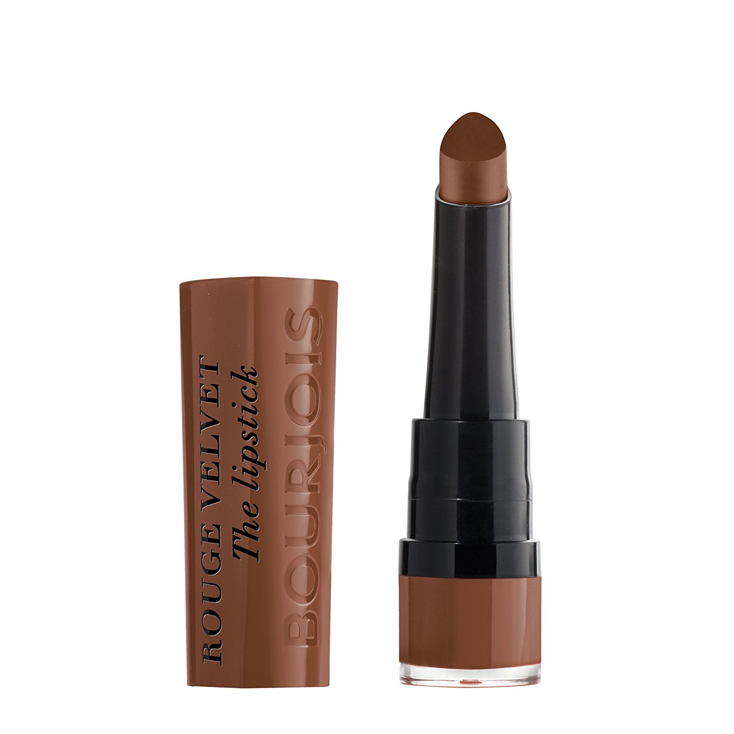 BOURJOIS ROUGE VELVET THE LIPSTICK 014 BROWNETTE