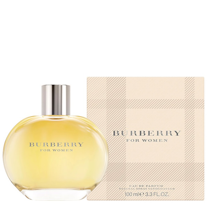 BURBERRY FOR WOMAN EDP 100 ML