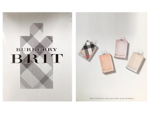 BURBERRY 4 MINIATURAS SET REGALO