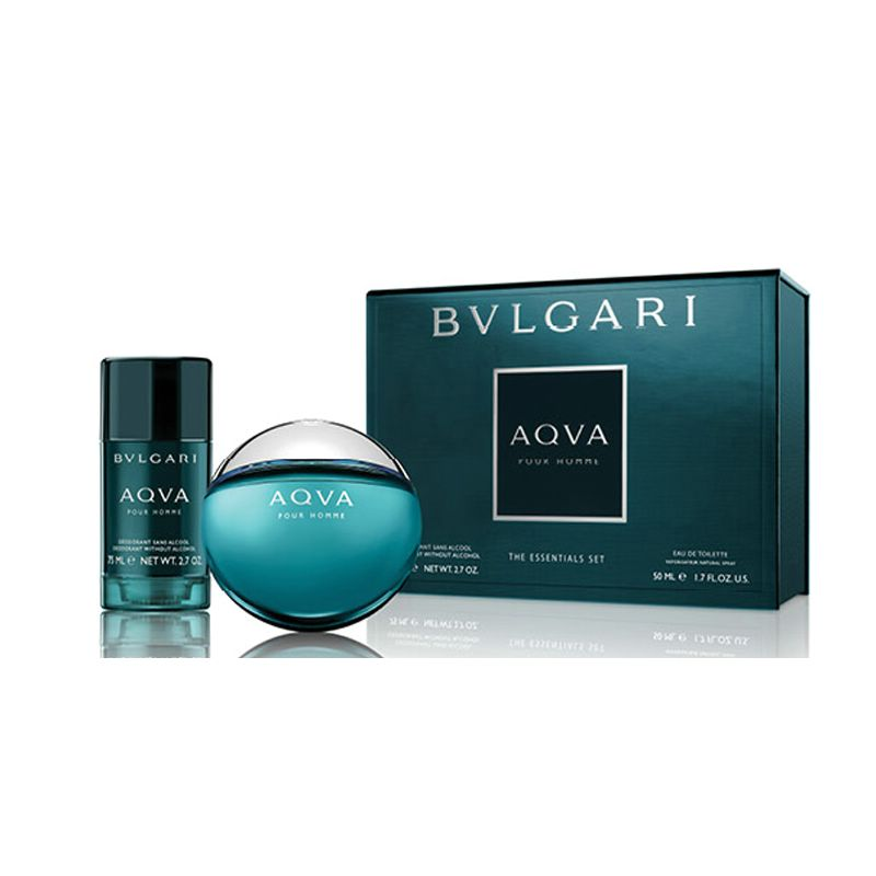 BVLGARI AQVA EDT 50 ML + DEO STICK 75 ML SET REGALO