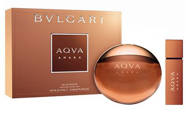 BVLGARI AQVA AMARA EDT 100 ML+EDT 15 ML+GEL 200ML SET REGALO