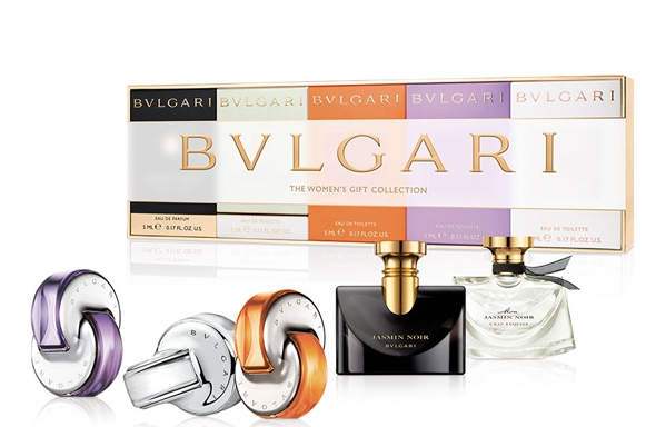 BVLGARI WOMAN MINIATURAS X 5 SET REGALO