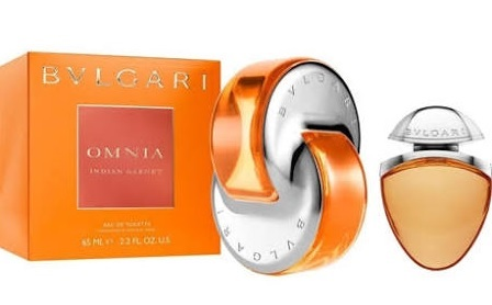 BVLGARI OMNIA INDIAN GARNET EDT 65 + MINI 15 ML SET