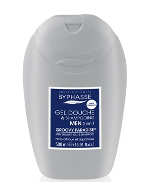 BYPHASSE MEN GROOVY PARADISE GEL DE DUCHA 2EN1 500ML