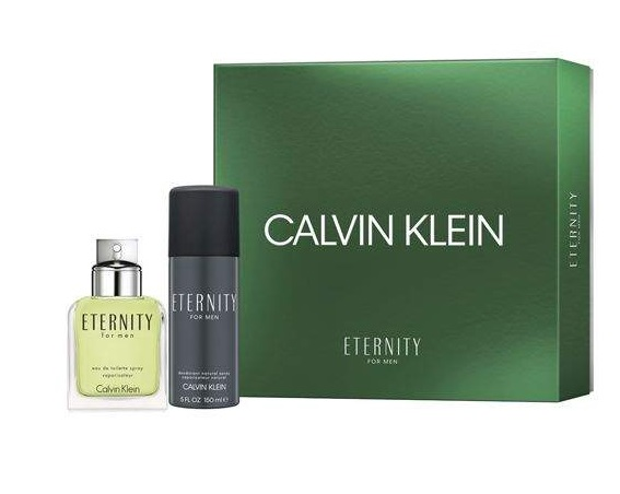 CK ETERNITY FOR MEN EDT 100 ML + DEO VAPO 150 ML SET REGALO