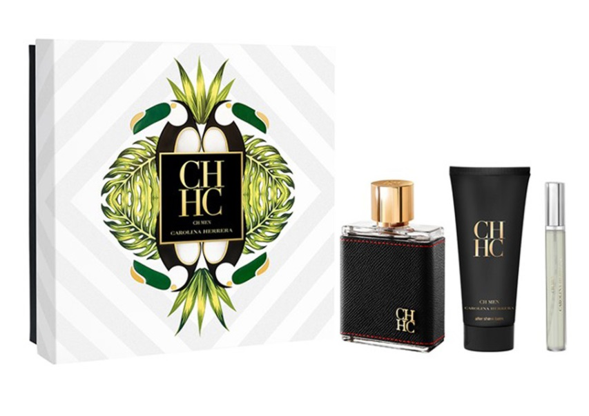CAROLINA HERRERA CH MEN EDT 100 ML + AS 100 ML + MINI 10 ML SET