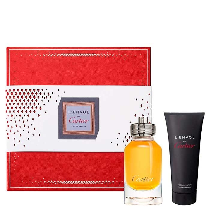 CARTIER L´ENVOL RECARGABLE EDP 80 ML + SHOWER GEL 100 ML SET REGALO