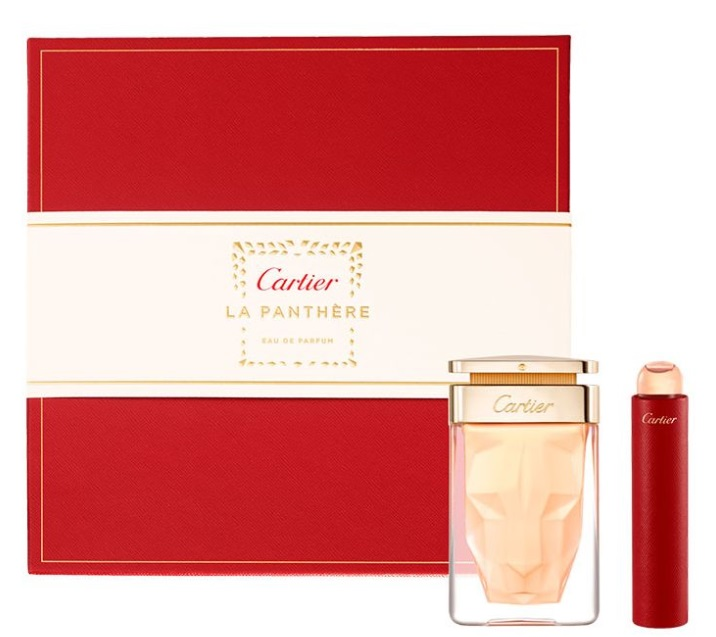 CARTIER LA PANTHERE EDP 75 ML + MINI 15 ML SET REGALO