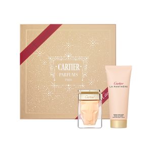 CARTIER LA PANTHERE EDP 50 ML + B/ CREAM 100 ML SET REGALO