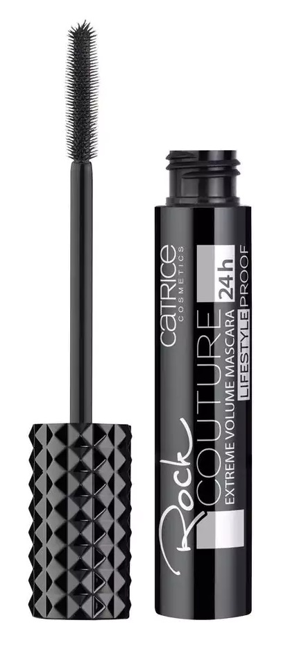 CATRICE ROCK COUTURE EXTREME VOLUME MASCARA LIFESTYLEPROOF ULTRA BLACK