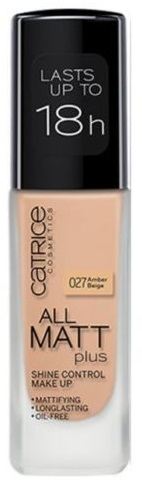 CATRICE ALL MATT PLUS MAQUILLAJE CONTROL BRILLOS 027