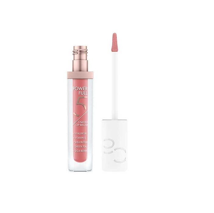 CATRICE POWERFUL 5 BÁLSAMO LABIAL LÍQUIDO CON COLOR 010 GLOSSY APPRICOT