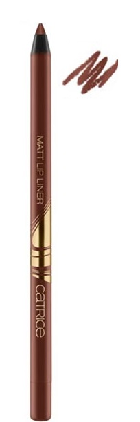 CATRICE BLESSING BROWNS MATT LIP LINER C02 CREME BRULEE